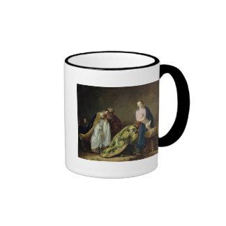 La adoración de unos de los reyes magos, 1638 taza de dos colores