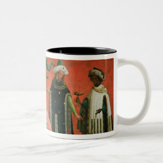 La adoración de unos de los reyes magos (aceite en taza de dos tonos