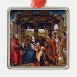 La adoración de unos de los reyes magos, c.1455 ornamentos para reyes magos