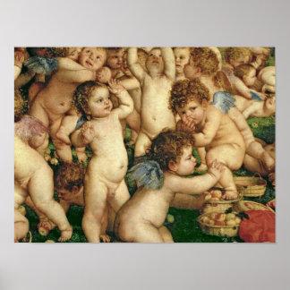 La adoración de Venus, 1519 Póster