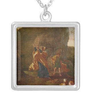 La adoración del becerro de oro, antes de 1634 colgante cuadrado