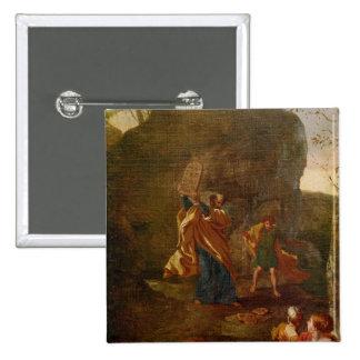 La adoración del becerro de oro, antes de 1634 pin cuadrado