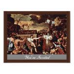 La adoración del becerro de oro de Poussin Nicola Anuncios Personalizados