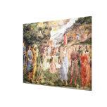 La adoración del becerro de oro impresiones en lienzo estiradas