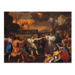 La adoración del becerro de oro tarjetas postales