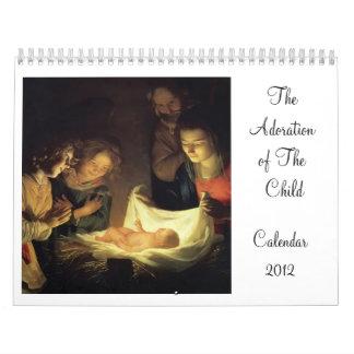 La adoración del calendario del niño