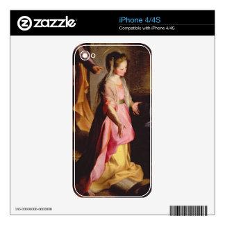 La adoración del niño, 1597 calcomanías para el iPhone 4