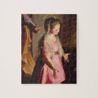 La adoración del niño, 1597 rompecabeza con fotos