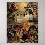 La adoración del nombre de Jesús, c.1578 Posters