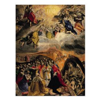 La adoración del nombre de Jesús, c.1578 Tarjetas Postales