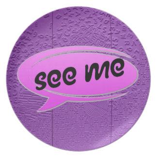 La afasia en púrpura me considera platos para fiestas