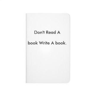 La afición, leída, escribe cuaderno