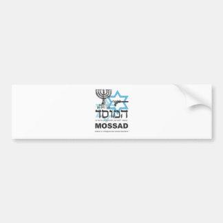La agencia israelí de Mossad Pegatina Para Auto