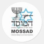 La agencia israelí de Mossad Pegatina Redonda