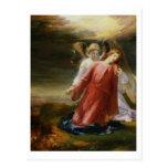 La agonía en el jardín, 1858 (aceite en el panel) tarjeta postal
