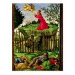 La agonía en el jardín, c.1500 tarjeta postal