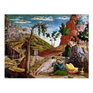 La agonía en el jardín tarjeta postal
