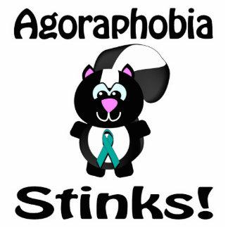 La agorafobia apesta diseño de la conciencia de la escultura fotografica