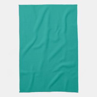 La aguamarina azul del trullo personalizó el fondo toalla de mano