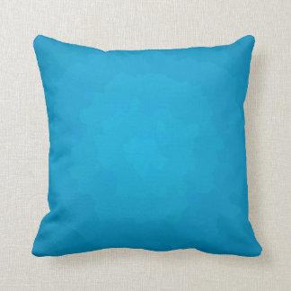 La aguamarina bonita/el llano azul > modeló la cojín