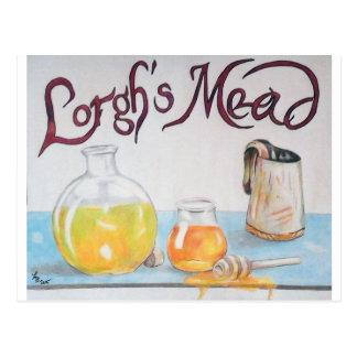 La aguamiel de Lorgh Postales