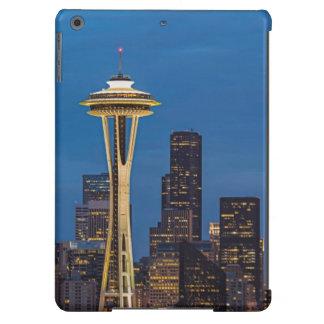 La aguja del espacio y la Seattle céntrica Funda Para iPad Air