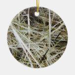 """la """"aguja en un haystack"""" 2 ECHÓ A UN LADO ornamen Ornamentos De Navidad"""