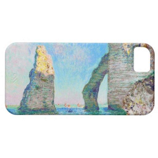 La aguja y el Porte Claude Monet d'Aval de la roca iPhone 5 Carcasas