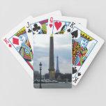 La aguja y la torre Eiffel de Cleopatra Baraja De Cartas