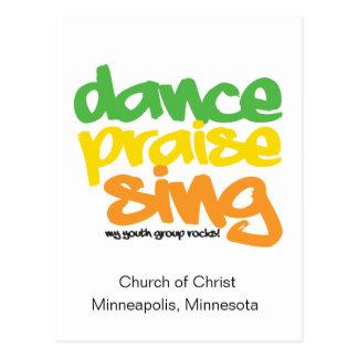 La alabanza de la danza canta al grupo juvenil que