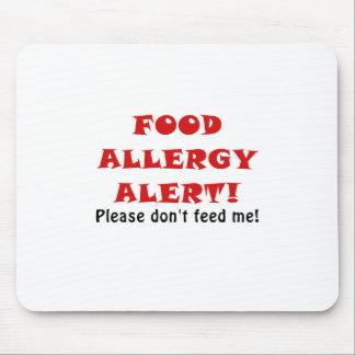 La alarma de la alergia alimentaria no me alimenta mouse pad