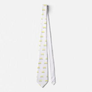 La alarma de la alergia no me alimenta por favor corbata personalizada