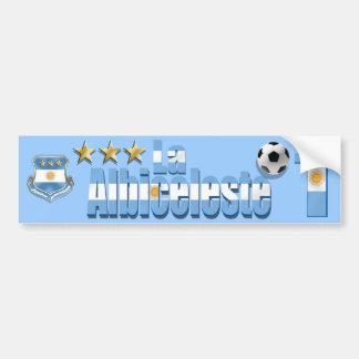 La Albiceleste Argentina Campeon World Champions Car Bumper Sticker