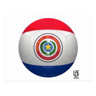 La Albirroja - Paraguay Football Postcard