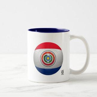 La Albirroja - Paraguay Football Two-Tone Coffee Mug