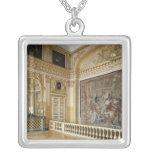 La alcoba de Louis XIV Colgante Cuadrado