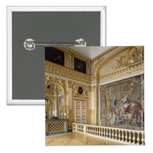 La alcoba de Louis XIV Pin Cuadrado