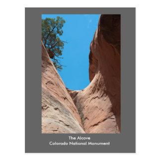 La alcoba, monumento nacional de Colorado Postal