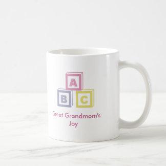 La alegría de gran Grandmom Taza De Café