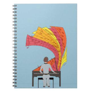 La alegría de jugar el piano libreta