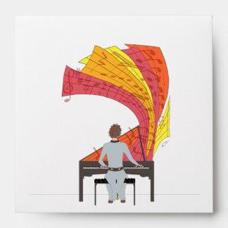 La alegría de jugar el piano sobre