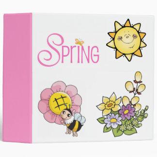 La alegría de la primavera - carpeta multiusos 2,8