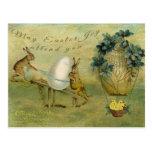 La alegría de mayo Pascua le asiste Postal