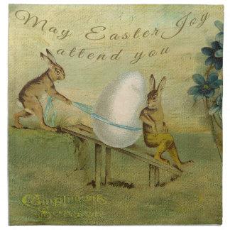 La alegría de mayo Pascua le asiste Servilleta Imprimida