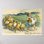 La alegría de Pascua asiste a YouChicks en un desf Poster