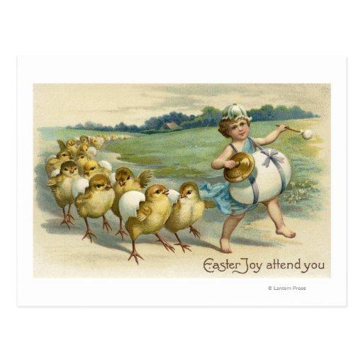 La alegría de Pascua asiste a YouChicks en un Postal
