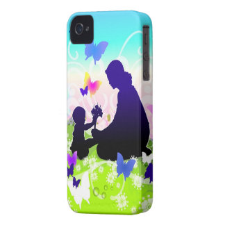 La alegría del caso del iPhone 4/4S de la iPhone 4 Case-Mate Carcasa