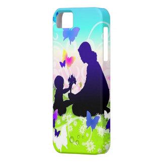La alegría del caso del iPhone 5 de la maternidad Funda Para iPhone SE/5/5s