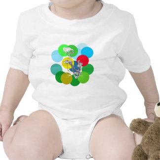 La alegría del color - arte de Patrick Janicke Trajes De Bebé