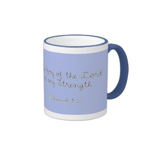 la alegría del señor es mi fuerza, 8:10 de taza de dos colores